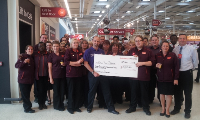 Sainsburys Fundraising