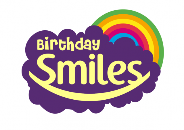 Follow Your Dreams Birthday Smiles Logo