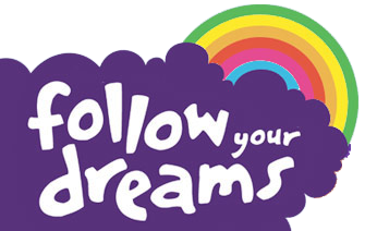 Follow your dreams logo